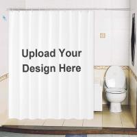 Shower Curtain Custom Printing Heavy Polyester 1987