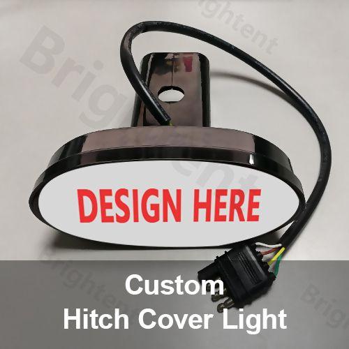 Custom Hitch Cover Led Lighted For Trailer